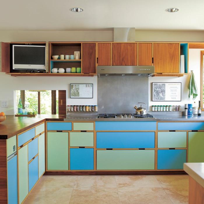 Envolva a cozinha em branco individualmente