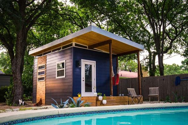 moderne Gartenhäuser super moderne Ideen