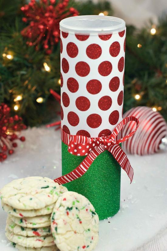 pringles dosen kekse box weihnachten geschenkideen