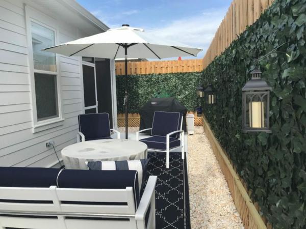 sonnenschutz für balkon und garten sonnenschirm terrasse gestalten