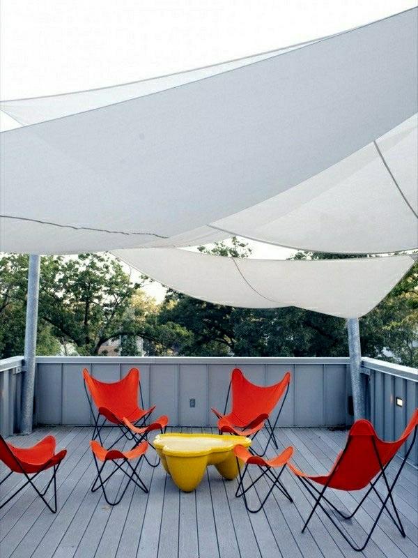 sonnenschutz für balkon und garten terrasse sonnensegel