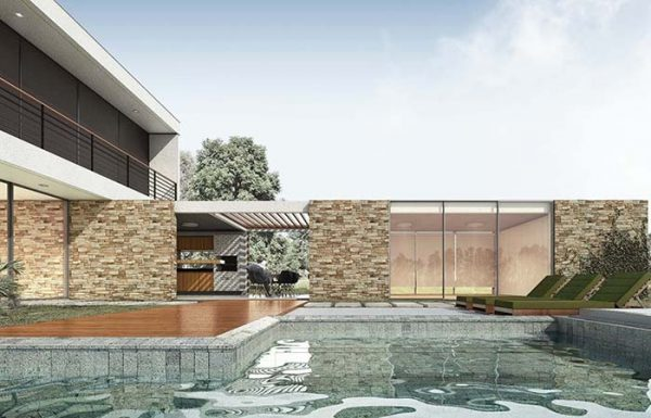 trendige gestaltung Gartenhaus