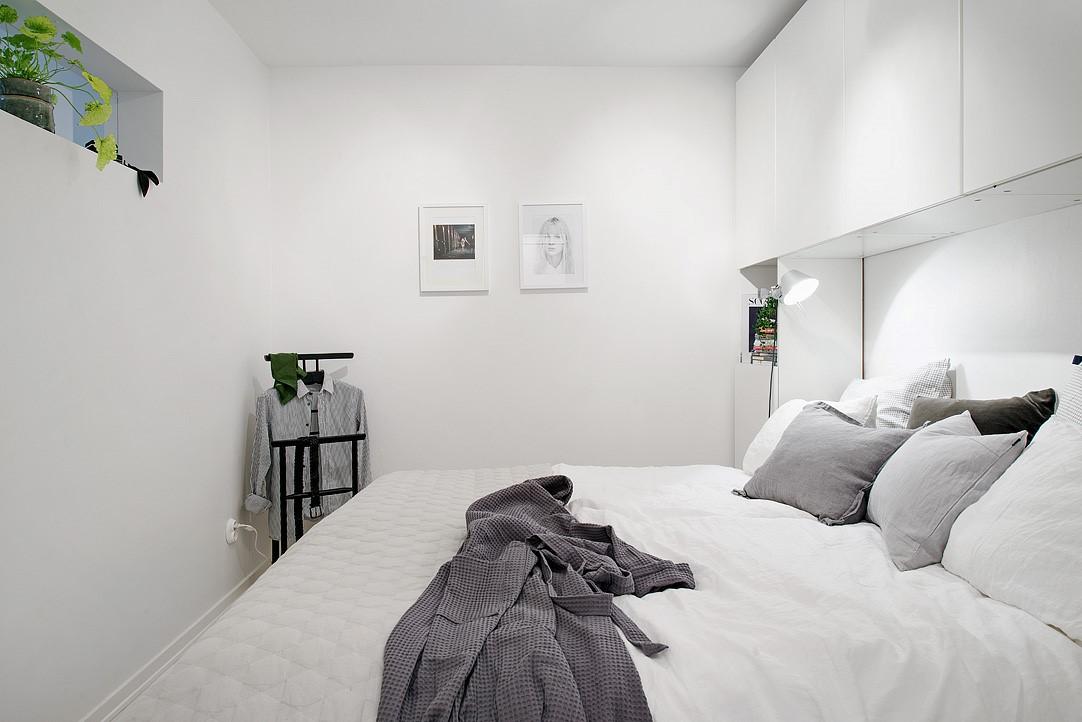 weißes modernes Zimmer einrichten