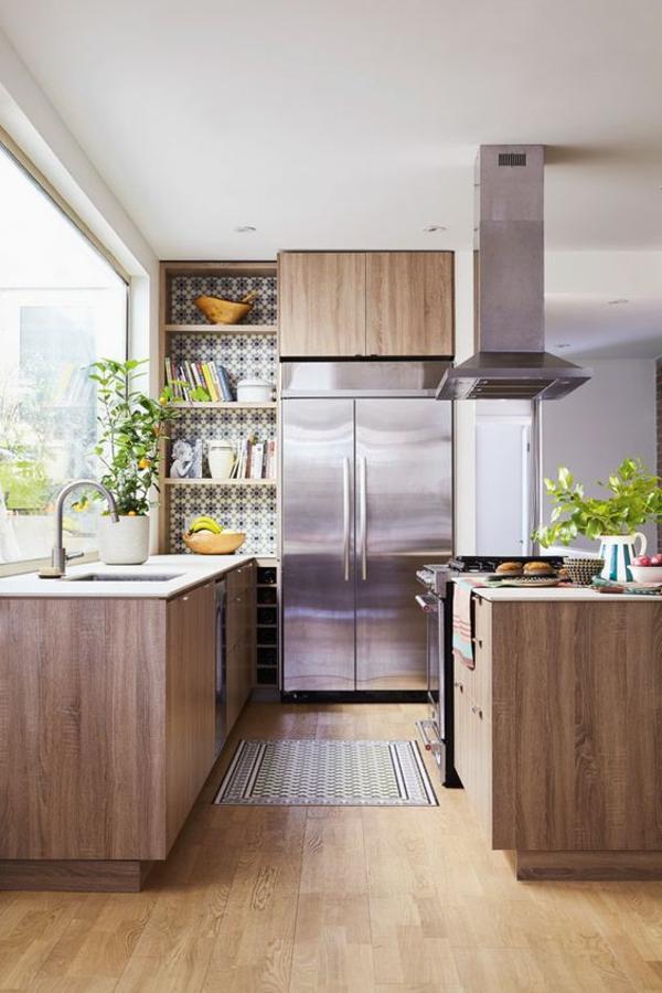wohnküche einrichten frische ideen schöne farbkombinationen