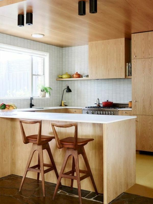 wohnküche einrichten gemütliche einrichtung helle farben