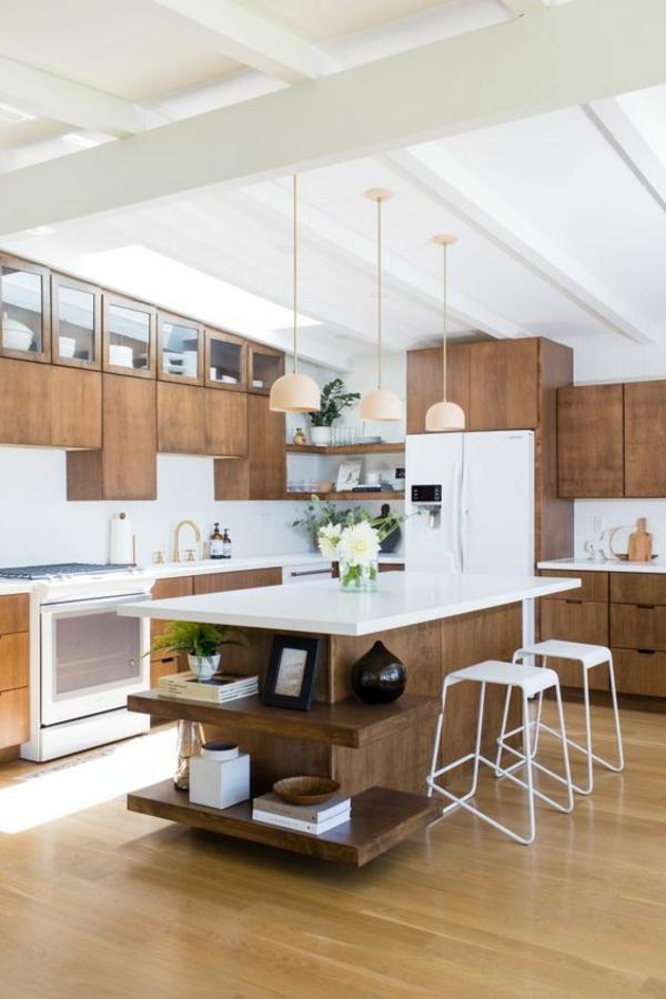 wohnküche einrichten moderne küche einrichten kücheninsel