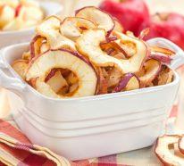 Äpfel dörren- so können wir die gesunden Snacks selber machen