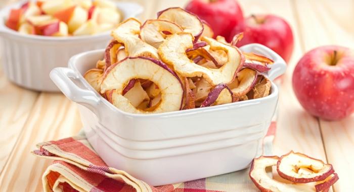 äpfel dörren äpfel gesund