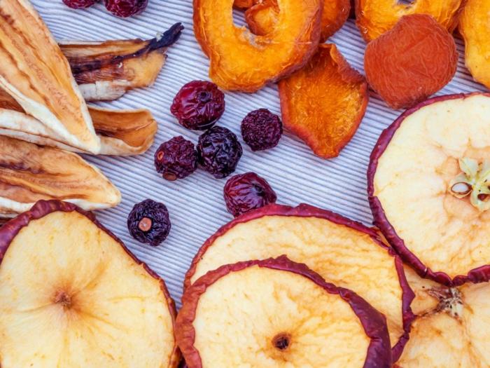 äpfel dörren früchte trocknen