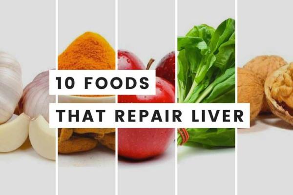 10 Lebensmittel, die die Leber reinigen