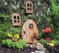 Baumstumpf dekorieren – kreative Ideen mit Liebe zur Natur