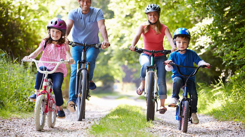 Cardio Fahrradfahren Gesunder Lebenssil