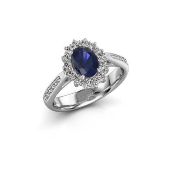 Dunkle Steine für Verlobungsringe