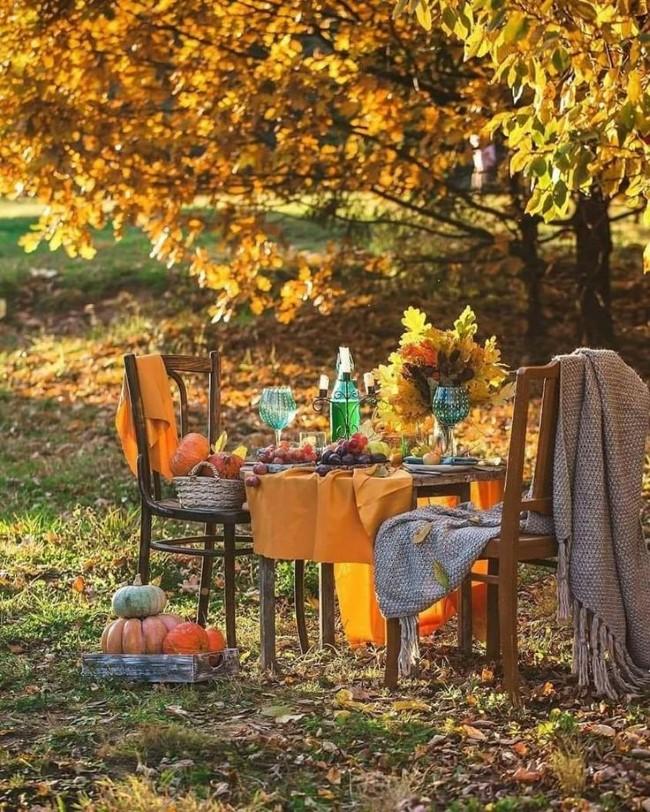 Einen märchenhaften Herbstgarten gestalten – farbenfrohe Ideen und Tipps gemütliche orte entspannen