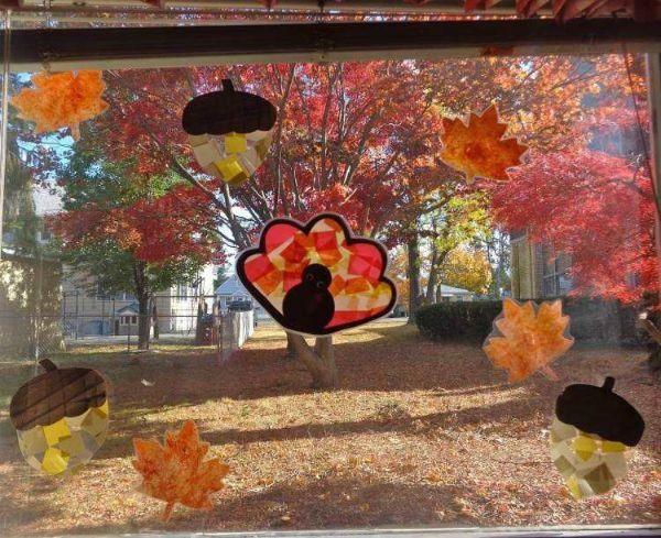 Fensterdeko Herbst Ideen Herbstdeko