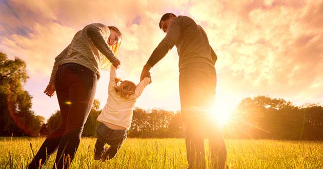 Gesunder Lebenssil Sonne und frische Luft