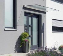 Glasvordächer: Anpassungsfähige Lösungen für moderne Fassaden
