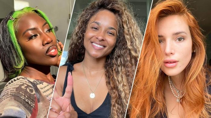 Haarfarben Trend 2021 honig weizen blond