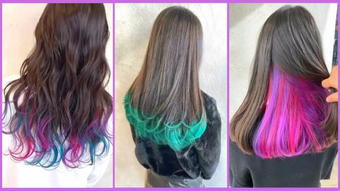 Haarfarben Trend 2021 spitzen