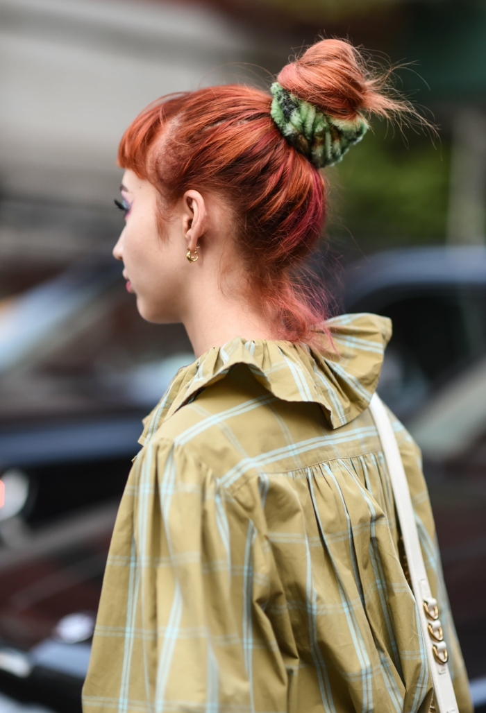 Haarfarben Trend 2021 warme farben rotbraun