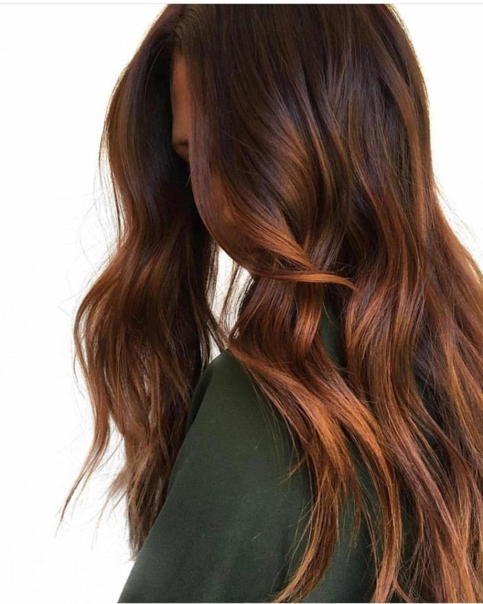 Haarfarben Trend 2021 warme farben warmes rot