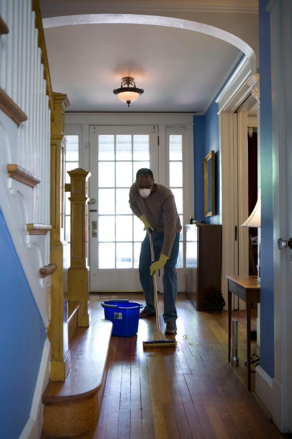 Herbstputz im Heim und Garten – natürliche Putzmittel und Checkliste böden putzen waschen