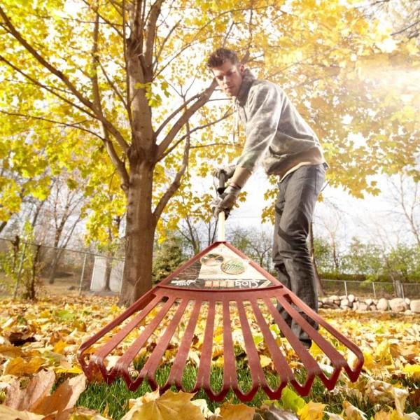 Herbstputz im Heim und Garten – natürliche Putzmittel und Checkliste herbst blätter rechen