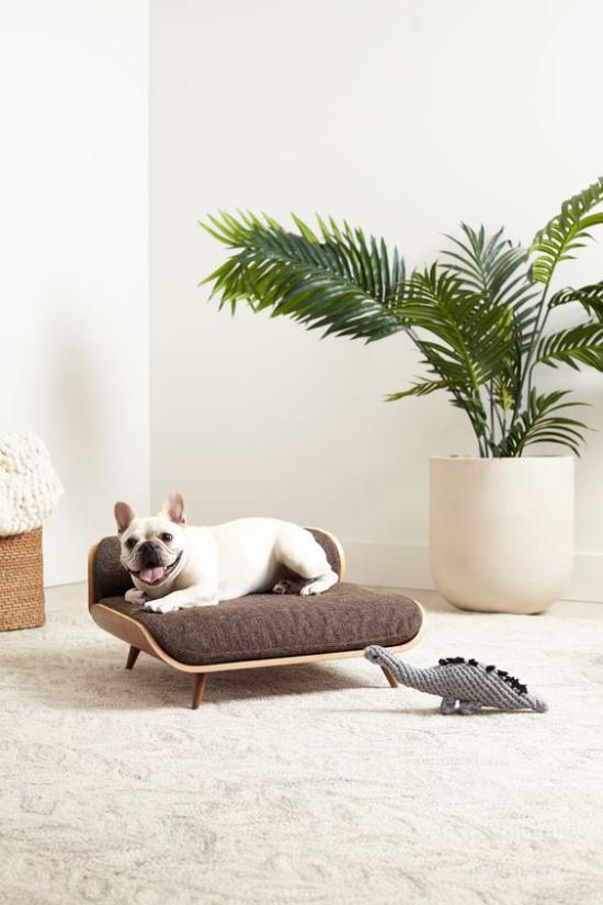 Hundebetten Schlafsofa für kleine Hunde elegantes Modell leicht zu reinigen
