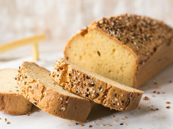 Keto Brot Rezept zubereitung Schritt für Schritt