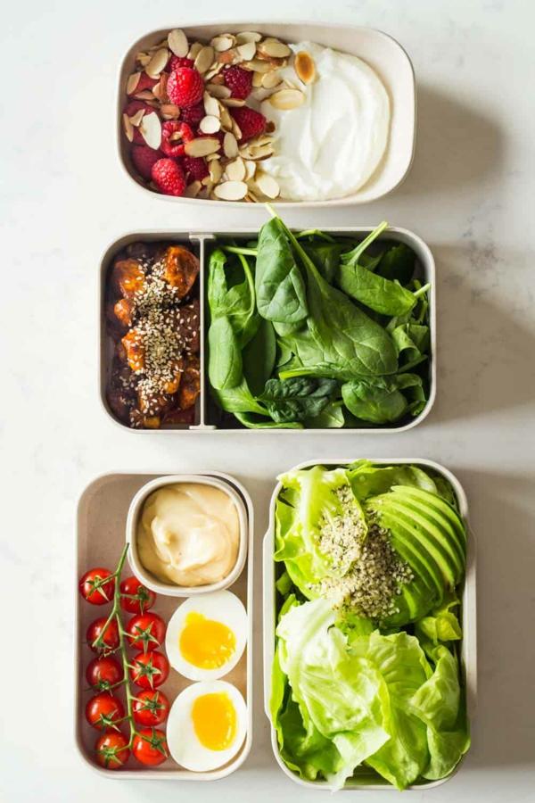 Ketogene Rezepte zubereiten Ernährungsplan