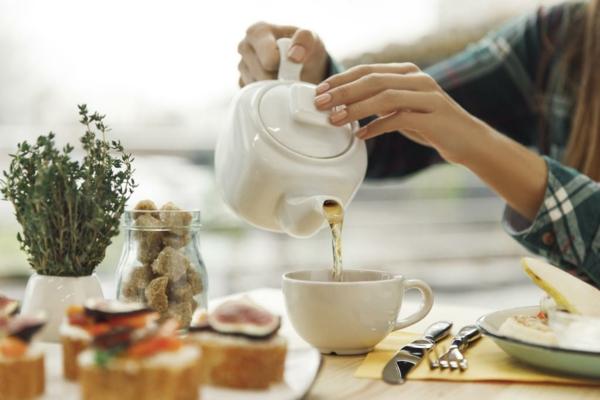 Lebensmittel, die die Leber reinigen Tee