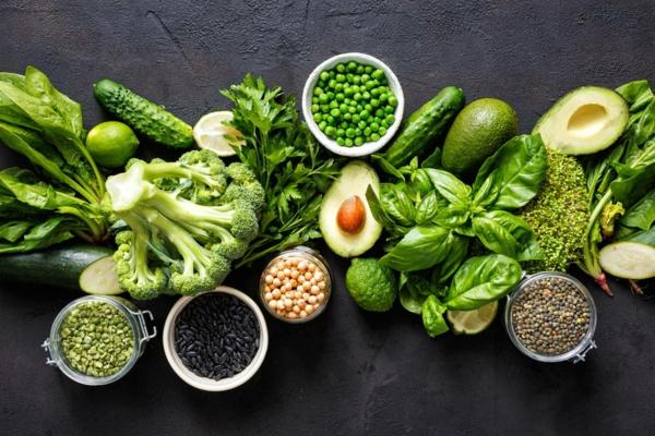 Lebensmittel, die die Leber reinigen grünes Gemüse
