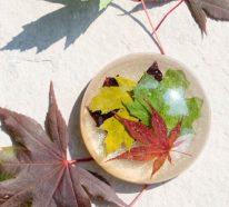 Mit Epoxidharz basteln zum Herbst – Ideen und Anleitungen für Schmuck und Deko
