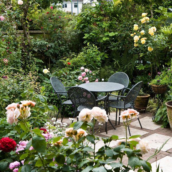 Moderne Gartengestaltung Gartentisch Gartenmöbel Set