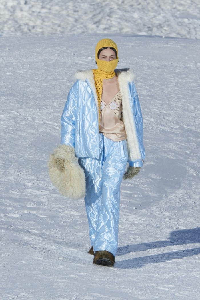 Modetrends Damen 2021 bereit für ski glamour