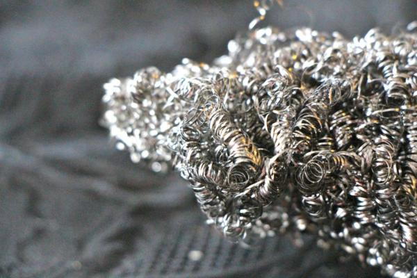 Rost beseitigen Stahlwolle vermeiden natürliche Hausmittel verwenden