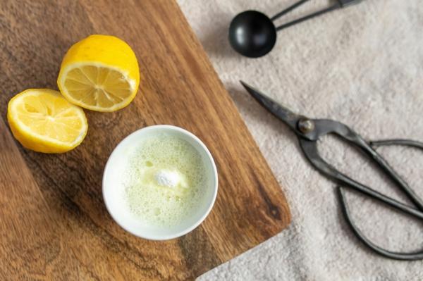 Rost entfernen Hausmittel Zitronensaft