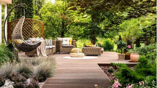 Schaukel Gartenmöbel Gartenideen