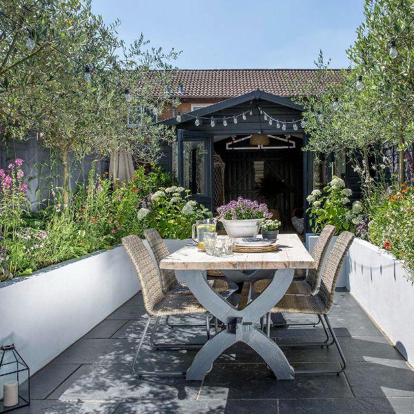 Tolle Trends im Garten Tischideen