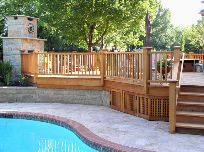 Geländer für Veranda und Co. – kurze Kaufberatung für Hausbesitzer holz geländer ideen