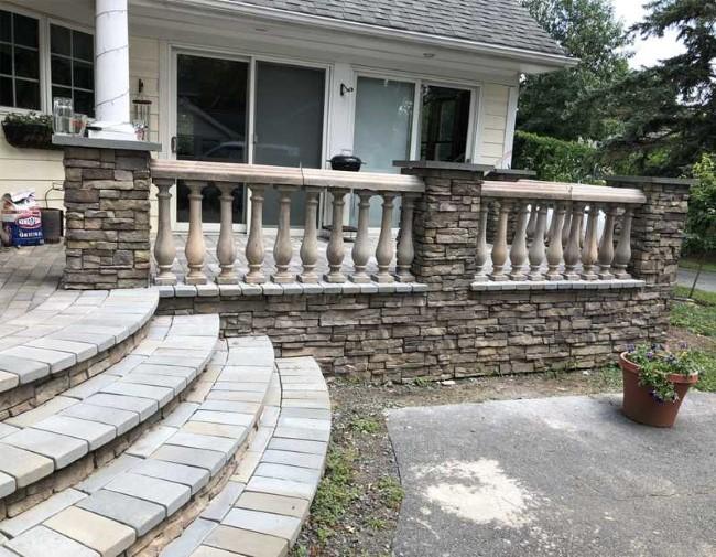 Geländer für Veranda und Co. – kurze Kaufberatung für Hausbesitzer marmor geländer ideen