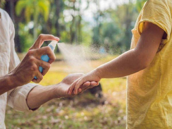 O que atrai os mosquitos para as ideias das crianças