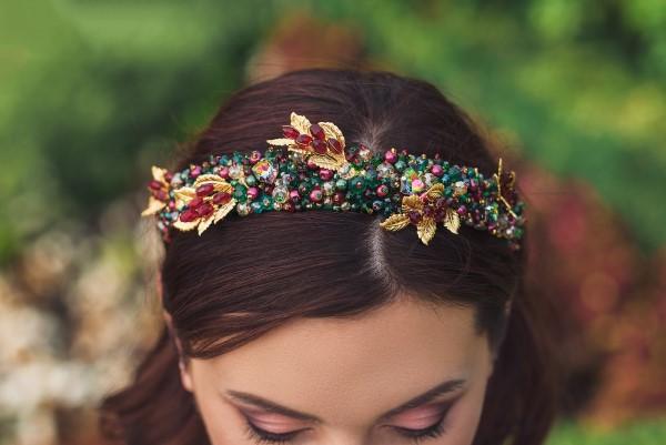 Welche sind die aktuellen Herbstfrisuren – Trends und Tipps für Ihren Herbstlook haarband perlen juwelen