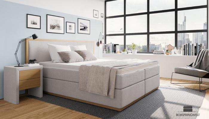 Qual é a altura das camas com colchão de molas e qual é a altura da cama ideal para móveis cinza neutro industrial