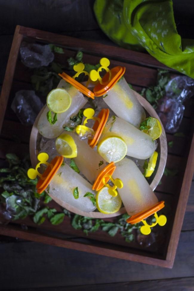 Zitroneneis ohne Eismaschine – 3 erfrischende Rezeptideen und Tipps wassereis zitrone ideen