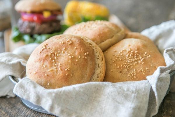 brötchen aus nur 3 zutaten glutenfrei für burger