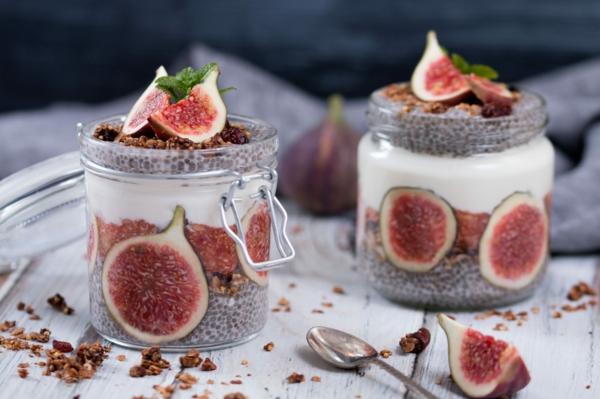 feigen gesund feigen chia pudding leckere desserts