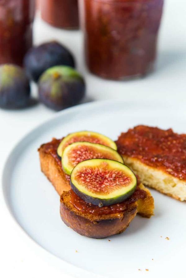 feigen gesund marmelade frische feigen brot