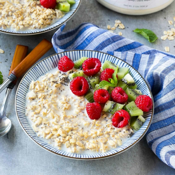 gesundes frühstück haferflocken diät