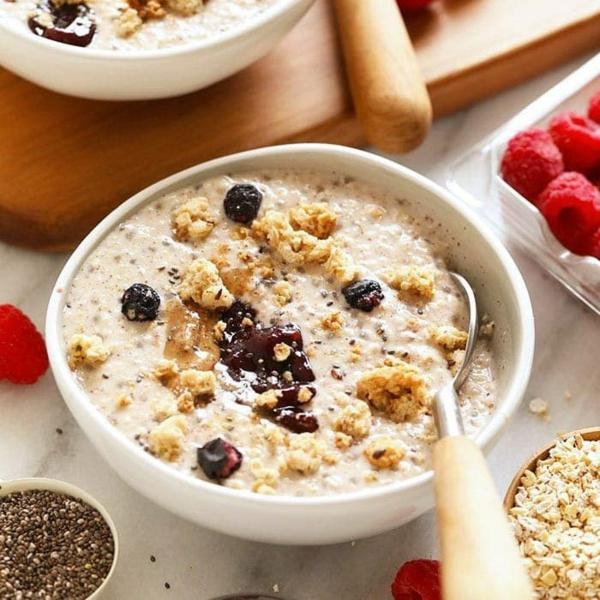 gesundes frühstück rezept mit overnight oats